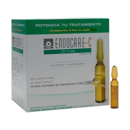 ENDOCARE C OIL FREE PIEL NORMAL/GRASA 2 ML 30 AMP
